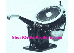 Roovers T-10A Embossing Machine