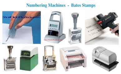 numbering machines