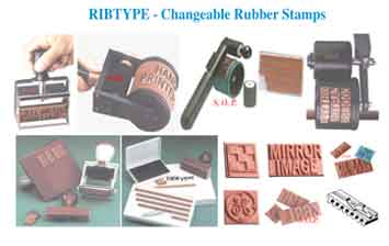 ribtype stamps